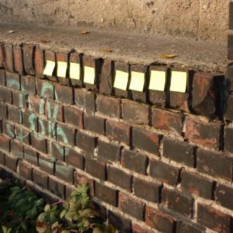 An der Wand: Eine von den Guten